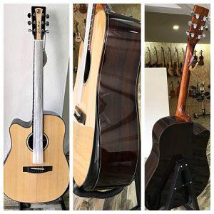 Handcrafted Left Hand Guitar JB